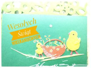 Wesołych, zdrowych i spokojnych Świąt Wielkanocnych życzy Uczniom, Rodzicom i Sympatykom naszej szkoły Grono Pedagogiczne i Dyrekcja SP1.